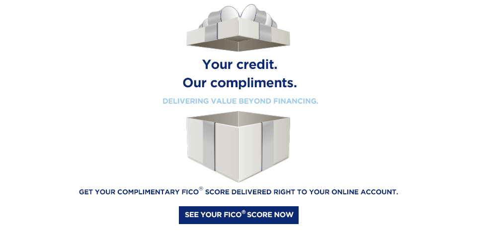Complimentary FICO from HMF